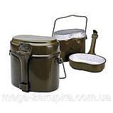 Котелок армейский, туристический, военная посуда, фото 6