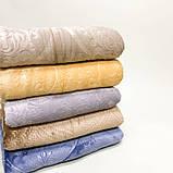 Плед «Вензель» однотонний, різних кольорів, розмір 220х240см, 290/340 грн (ціна за 1 шт +50 грн), фото 3