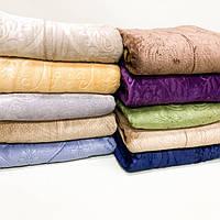 Плед «Вензель» однотонний, різних кольорів, розмір 180х220 см, 270/300 грн (ціна за 1 шт +30 грн)
