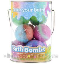 Бомбочка-гейзер для ванни 8штук Crayolа Bath Bombs