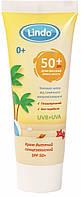Детский солнцезащитный крем Lindo SPF 50+, 75 мл от рождения