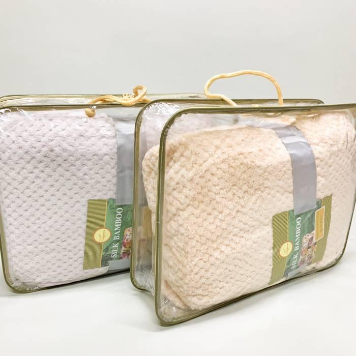 """Плед «Бамбук"""" однотонний, різних кольорів, розмір 220/240 см, 350/390 грн (ціна за 1 шт +40 грн)"""