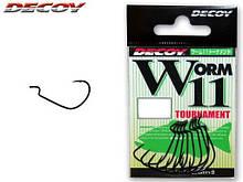 Крючок Decoy Worm 11 Tournament 1/0, 9шт