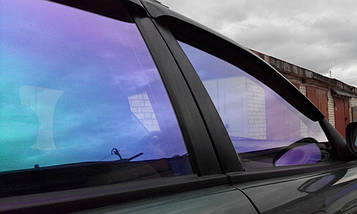 Фиолетовая плёнка хамелеон Skincare Film Mystiс 13 1.524 м