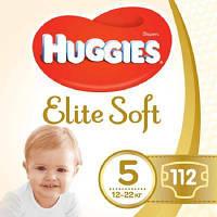 Підгузок Huggies Elite Soft 5 (12-22 кг) 112 шт (5029054566237)
