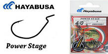 Крючок Hayabusa Power Stage офсет #4/0 6pcs