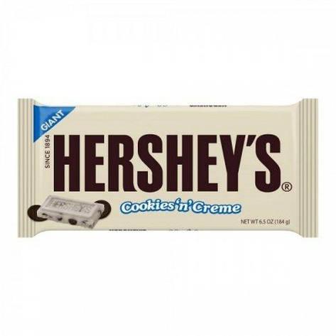 Giant Hershey's Cookies 'n' Creme, 184 г, фото 2
