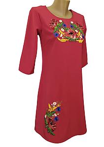 Жіноче літнє вишита сукня розмір 42 44 46 48