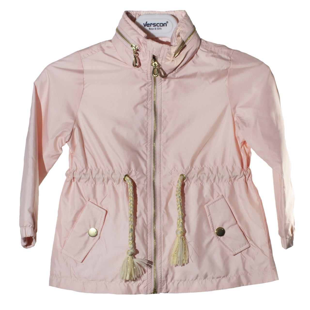 Куртка - ветровка для девочки, размеры 5, 6 лет