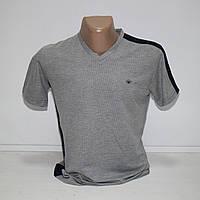 Мужская серая футболка Турция т.м. Piyera P19