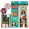 Антимоскитная сетка на дверь на магнитах MAGIC MESH sv048