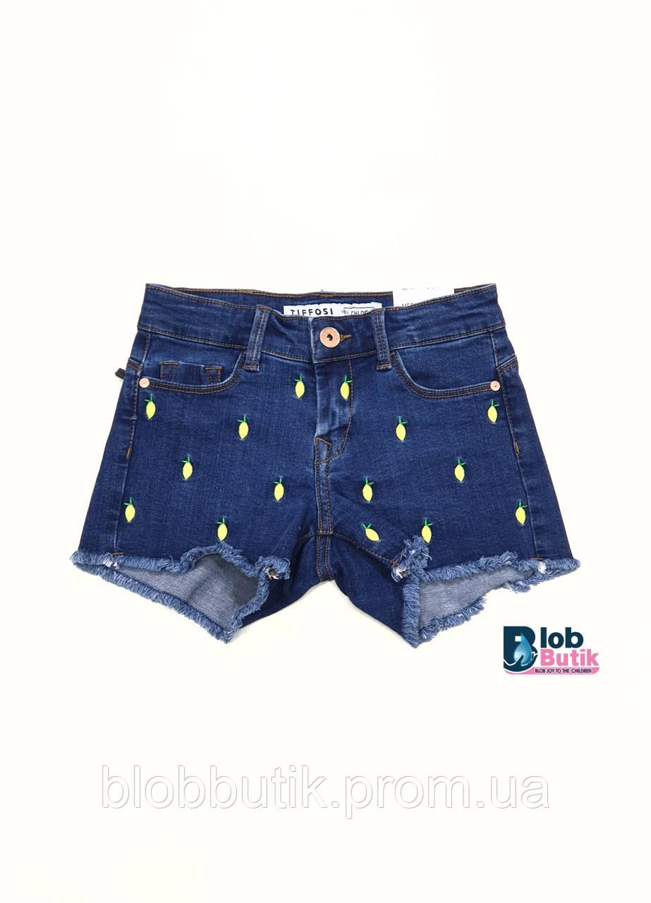 Шорты джинсовые для девочки Tiffosi.