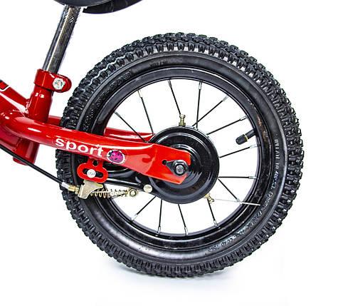 """Велобег Scale Sports 12"""". Красный цвет., фото 2"""