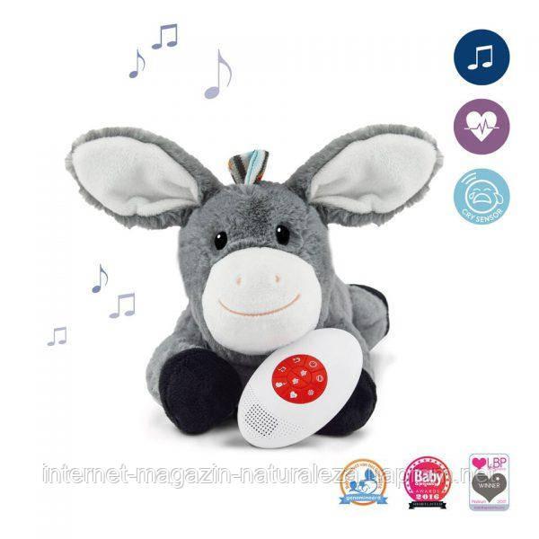Музична м'яка іграшка Zazu ослик Don з білим шумом