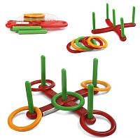Детская спортивная игра Кольцеброс