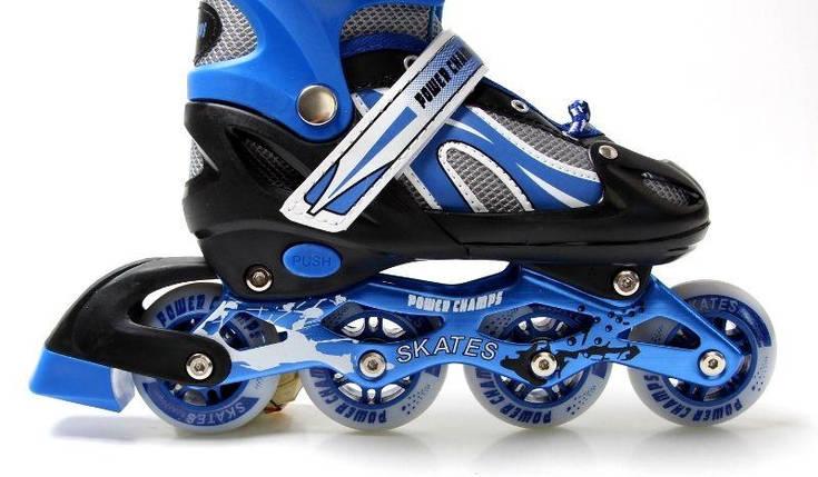 Ролики Power Champs. Blue, размер 29-33, фото 2