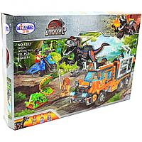 Конструктор Winner Jurassic World Парк Юрского периода Грузовик для перевозки динозавров, 551 деталей (1382)