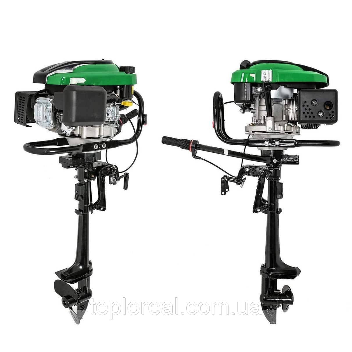 Човновий мотор GrunWelt GW-200FD