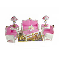 Кукольная мебель Gloria Гостинная (2317)