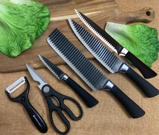 Набір ножів 6в1 Forging Family H0098