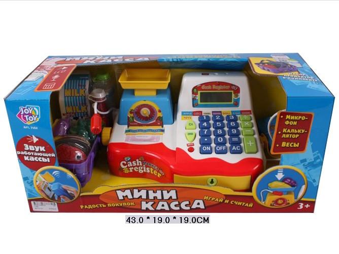 """Кассовый аппарат PLAY SMART 7162 """"Мини касса"""" батар.муз.с весами кор.43*19*19 ш.к./12/"""
