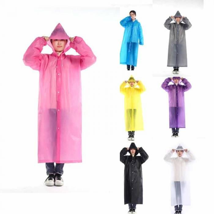 Подовжений дощовик, модний дощовий плащ, забарвлення