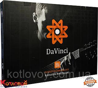 Біметалевий радіатор DaVinci Bi-metal 500/100