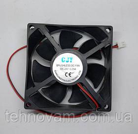 Вентилятор малый сварочного аппарата 24V 25х80х80