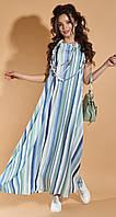 Повседневное длинное платье на лето (S/M, M/L, L/XL)