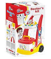 "Тележка с медицинскими инструментами ""Маленький доктор"", ТехноК, 6504"