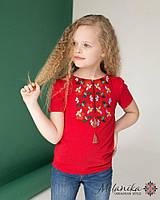 Вишита футболка для дівчинки  « Берегиня »