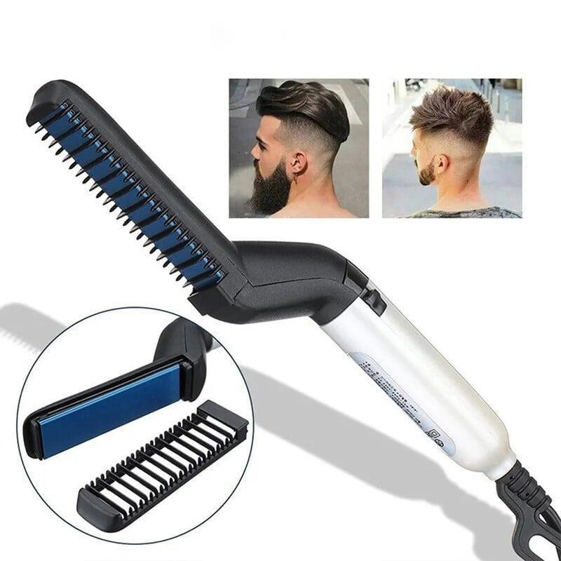Утюжок-выпрямитель для бороды и волос Modelling Comb