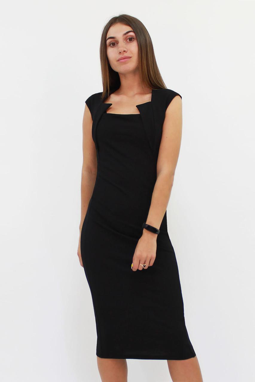 S, M, L, XL | Класичне жіноче плаття-футляр Roksen, чорний