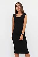 S, M, L, XL   Класичне жіноче плаття-футляр Roksen, чорний
