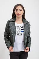 Куртка женская 131R1918 цвет Темно-зеленый
