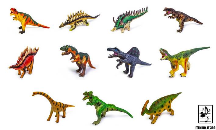 Динозавры резиновые LT359, фото 2