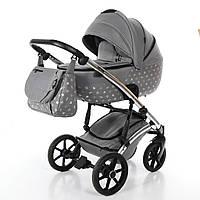 Всесезонная детская коляска 2 в 1 для новорожденных Tako Laret Imperial 03 Серый