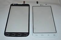 Оригинальный тачскрин / сенсор (сенсорное стекло) для LG Optimus L90 Dual SIM D410 REV 3 (белый, самоклейка)