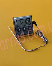 Термометр щуп Digital Cooking Termometr/Timer TP700 цифровий