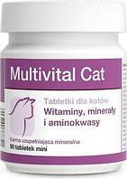 Долфос Мультивитал Кэт (Multivital Cat) вит-мин корм комплекс для кошек, 90 таб