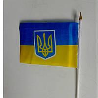 Флажки Украины 14х25 см оптом
