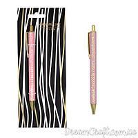 """Ручка-автомат с блестками """" Pink sequins"""""""