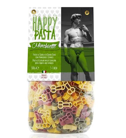 Макарони DALLA COSTA Happy Pasta Sex 500 г , фото 2