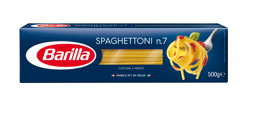 Макарони Barilla Spaghettoni №7  500г, фото 2