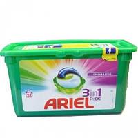 ARIEL Kaps 38 Żel Color Аріель 38шт, капсули для прання кольорових тканин