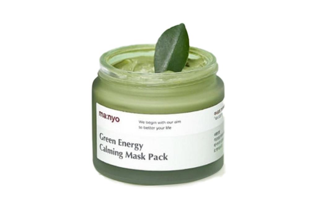Успокаивающая маска Manyo Factory – Green Energy Calming Mask Pack, 75 мл
