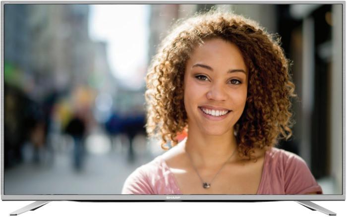 Телевизор Sharp LC-55CUF8462ES ( Full HD / 4K / Smart TV / 600Hz / DVB-С/T2/S2)