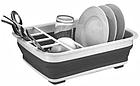 [ОПТ] BN-090 Сушилка для посуды складная силиконовая, фото 3
