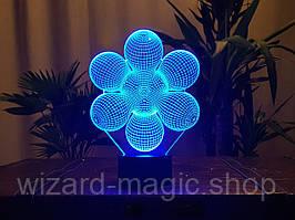 Светильник 3D Начало