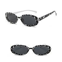 Жіночі сонцезахисні окуляри Black and White, фото 2